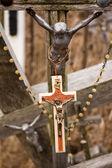 Nuevas y viejas cruces — Foto de Stock