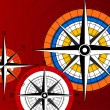 Compass Icons - Stok Vektr