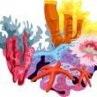 Coral Reef — Stock Vector #4752732