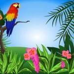 Parrot — Stock Vector #4755879