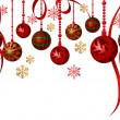 Vector de stock : Hanging Ornaments