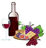 Vineyard — Stock Vector
