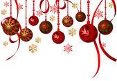 Hanging Ornaments — Stock Vector