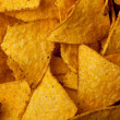 Tortilla chips background - Stock Photo
