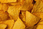 Tortilla chips background — Stock Photo
