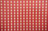 Checkered fabric background — Stock Photo