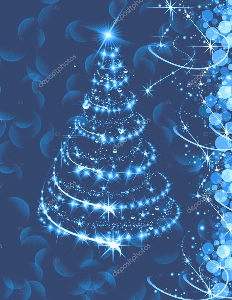 Decorated christmas tree  Stock Photo #4828784