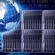 Global servers — Stock Photo