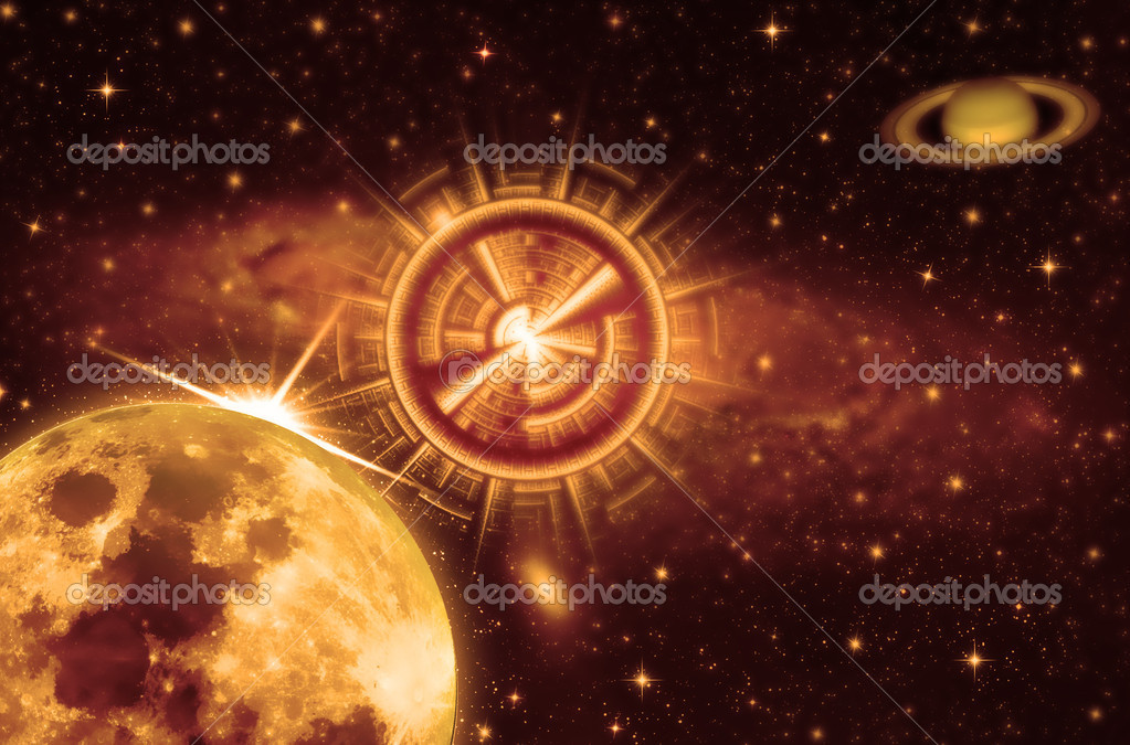 Star gate,universe concept ,exploration — Stock Photo #4872747