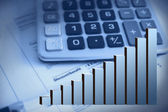 Finance raport — Stock Photo
