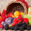 Fresh Fruits in Summer - Stock Photo