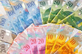 Swiss Money — Stock Photo