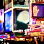 Don't walk New York traffic sign — Stock Photo #4791664