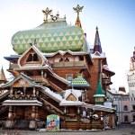 Beautiful kremlin in Izmailovo — Stock Photo #5372653