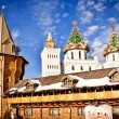 Stock Photo: Decorated towers in Kremlin in Izmailovo