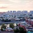 Moscow panorama — Stock Photo
