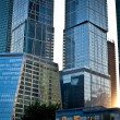 Modern skyscrapers in business centre — Stock Photo #5372816