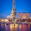 Monument to Peter the Great in Moscow — Stock Photo #5372990