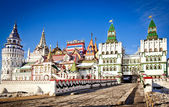 Beautiful kremlin in Izmailovo — Stock Photo