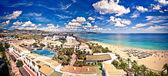 空中海滩视图 — 图库照片