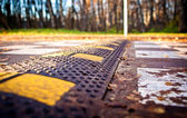 Road barrier — Foto Stock