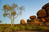 Devil's marbles — Stock Photo
