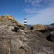 Pemon Point Lighthouse and Rocks — Stock Photo