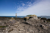 Penmon Point, Anglesey, Wide Angle Scene — Stock Photo