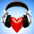 Music love — Stock Photo