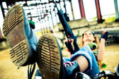 Military punk — Stock Photo