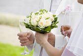 Hold my bouquet, please! — Stock Photo