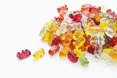 Fruit gums, Gummibärchen — Stock Photo