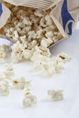 Microwave Popcorn — Stock Photo