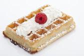 Waffle, Waffel — Stock Photo