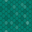 Fish scales texture seamless - vector — ストックベクター #5038508