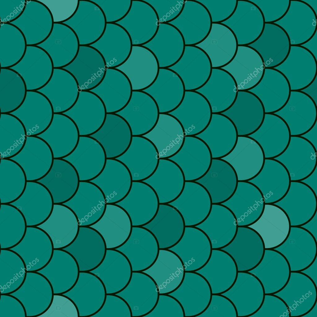 Fish scales texture seamless vector stock vector for Do all fish have scales