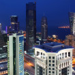 West Bay Area in Doha / Qatar - Stock Photo