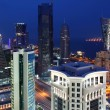 West Bay Area in Doha / Qatar — Stock Photo
