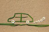 Clean air concept: automobile — Stock Photo