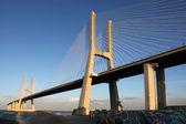 Ponte Vasco da Gama in Lisbon — Stock Photo