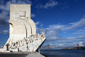 Padrao dos Descobrimentos in Lisbon — Stock Photo