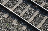 Eisenbahnschiene — Stock Photo