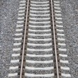 Stock Photo: Eisenbahnschiene