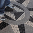Floor tiles mosaic — Stock Photo #4849071