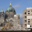"Stock Photo: Abbruch des ""Palast der Republik"" - demolition digger"