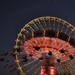 Riesenrad und KArussell — Stock Photo #4901005