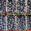 Stock Photo: Blaubeeren