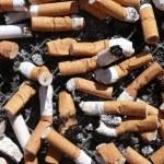 Zigarettenkippen — Stock Photo