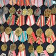 Russian medals of honor - Stock Photo
