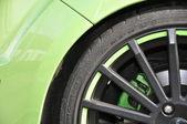High speed tyre — Stock Photo